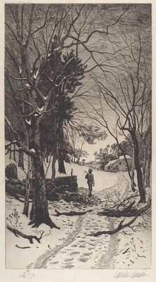 Untitled (Winter Landscape)