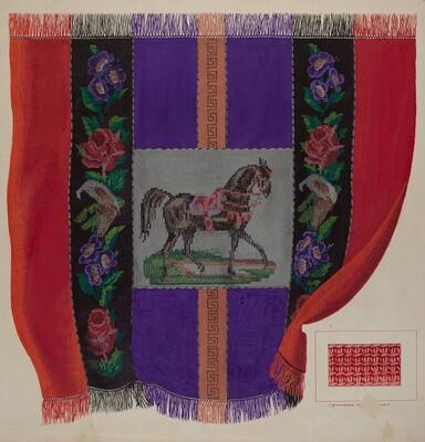 Afghan Carriage Robe