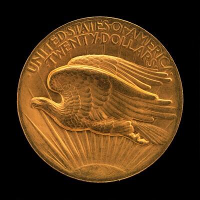 Double Eagle Twenty Dollar Gold Piece [reverse]