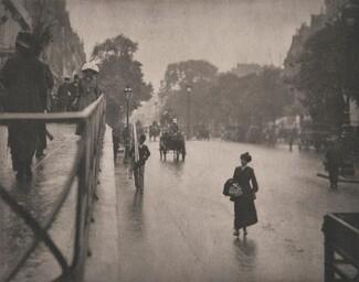 A Snapshot; Paris [street scene]