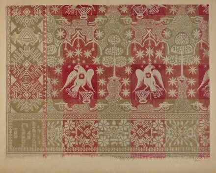 Commemorative Coverlet