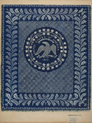 Coverlet (U.S. Seal)