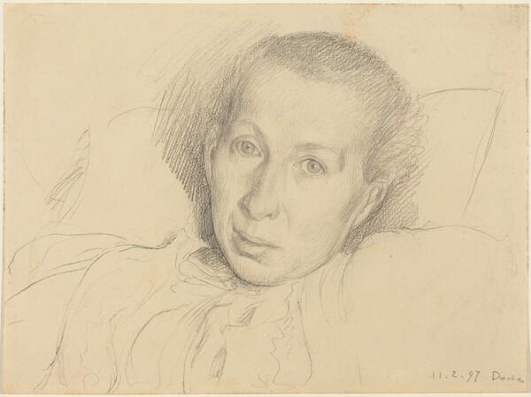 The Artist's Sister, Marie von Kalckreuth