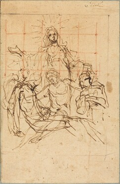 The Pietà (recto)