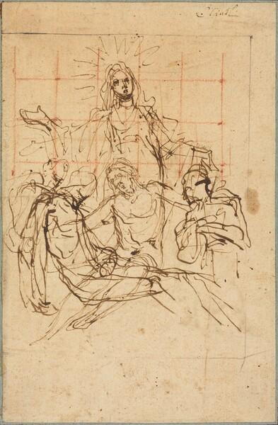 The Pietà (recto)
