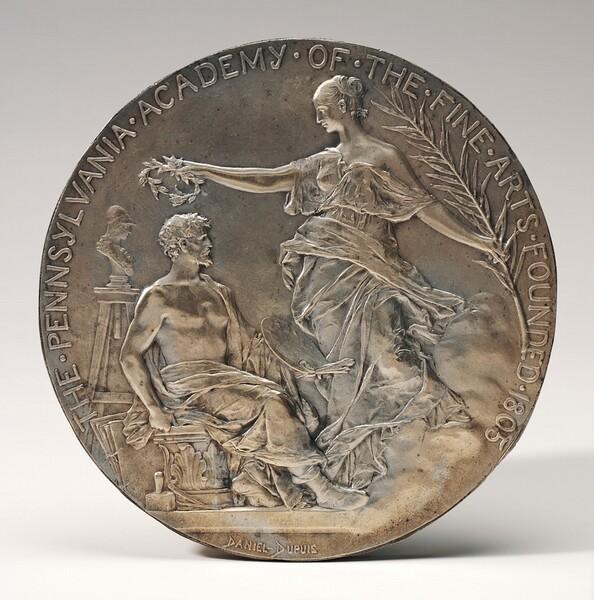 Medallion for the Pennsylvania Academy of the Fine Arts