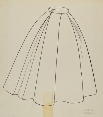 Study for Quilted Petticoat