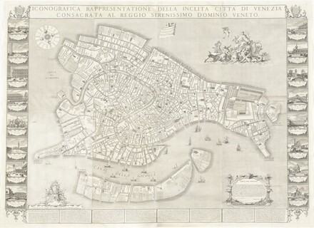 Iconografica Rappresentatione della Inclita Città di Venezia (Iconongraphic Representation of the Illustrious City of Venice)