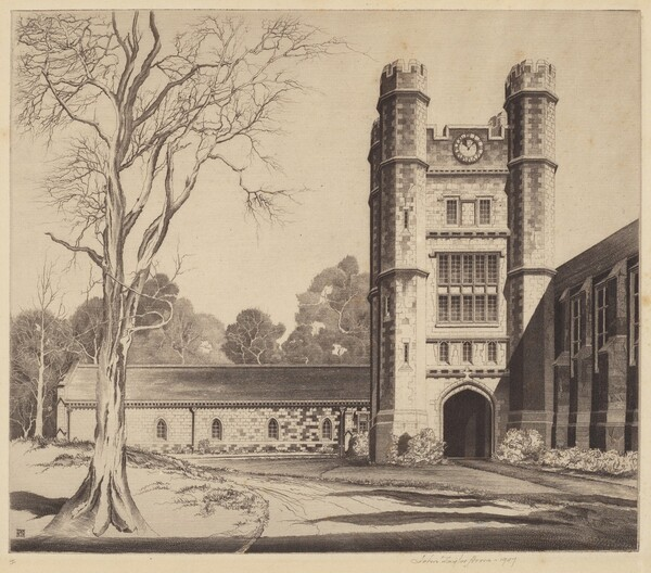 The Herbert Lowell Dillon Gymnasium, Princeton, NJ