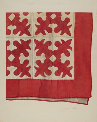 Oak Leaf Pattern Quilt
