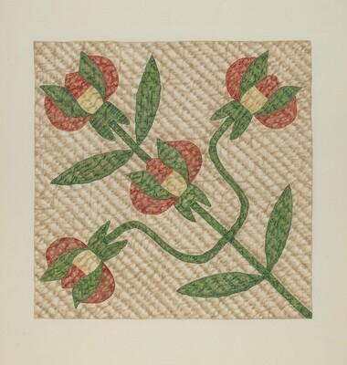 Tulip Pattern Quilt