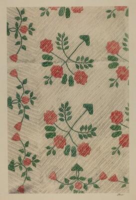 Quilt - Rose Design