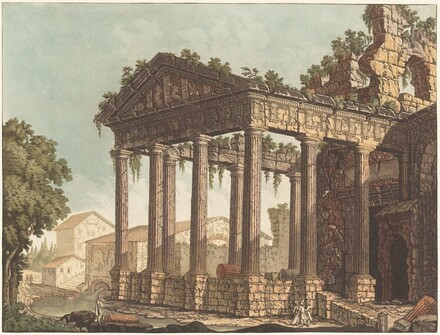 The Temple of Hercules at Cori