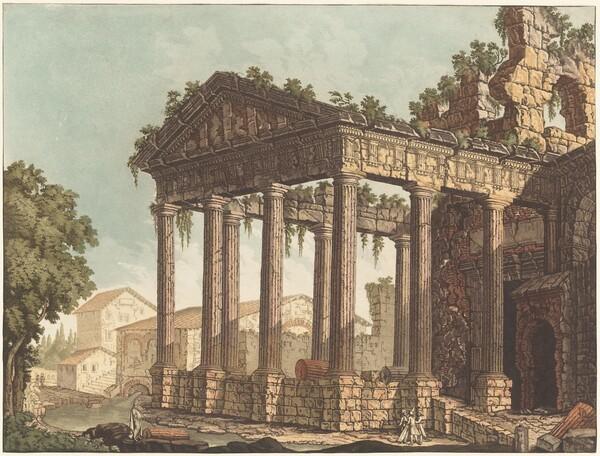 The Temple of Hercules at Cori