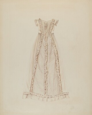 Infant's Dress (Back View)