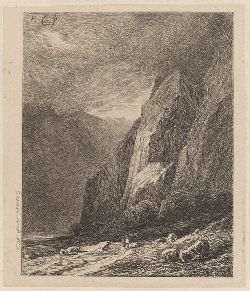 Cliffs in a Storm