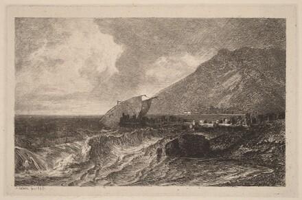 Shipwreck on a Shore