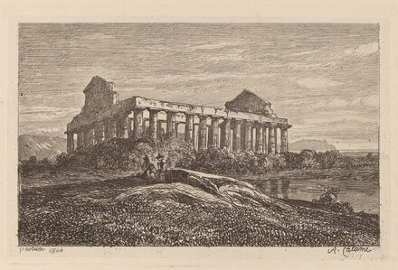 Ruins at Paestum