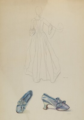 Gown and Slipper