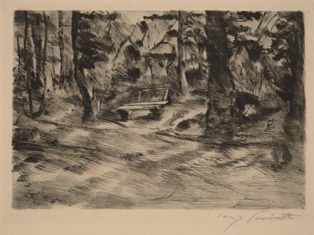 Bench in the Woods II (Bank im Walde II)