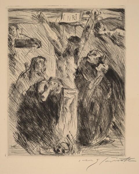 Kreuzigung, nach dem Altarbild in Tölz (Crucifixion, after the Altarpiece at Tölz)