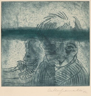 The Couple, Self-Portrait with Wife (Das Paar, Selbstporträt mit Frau)