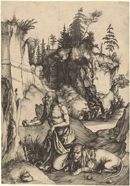Saint Jerome Penitent in the Wilderness