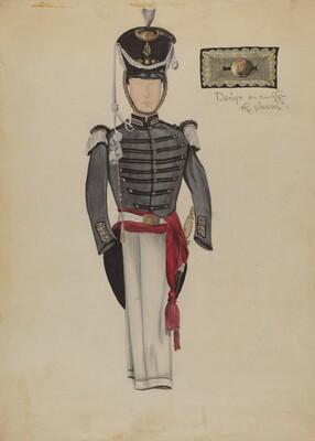 Sargent's Dress Uniform