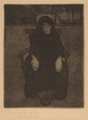 Seated Old Woman