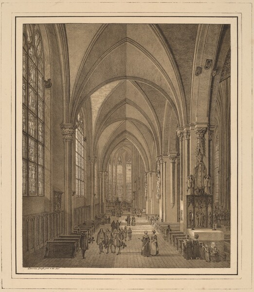 View of the Interior of the Church of St Sebald in Nuremberg