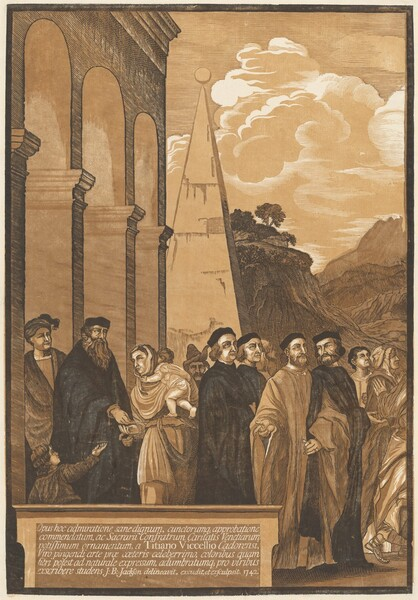 Presentation of the Virgin in the Temple (Left Panel)