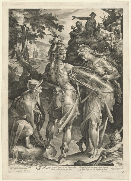 Minerva and Mercury Arming Perseus