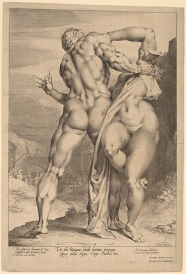 The Rape of a Sabine Woman (View from Behind)