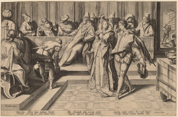 Salome Dancing Before Herod