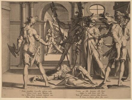 Beheading of the Roman Judge Papinian