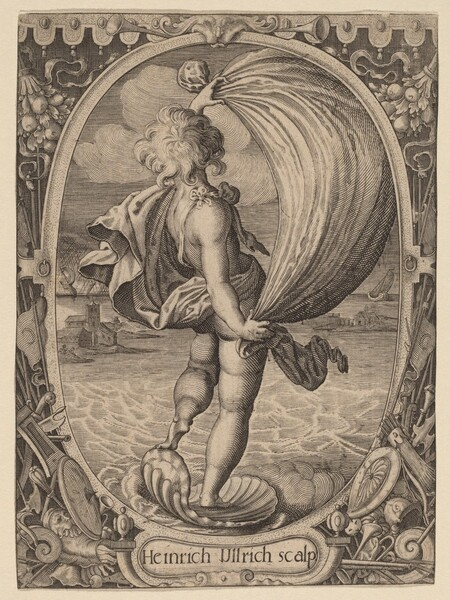 Aiolos, Personification of Wind