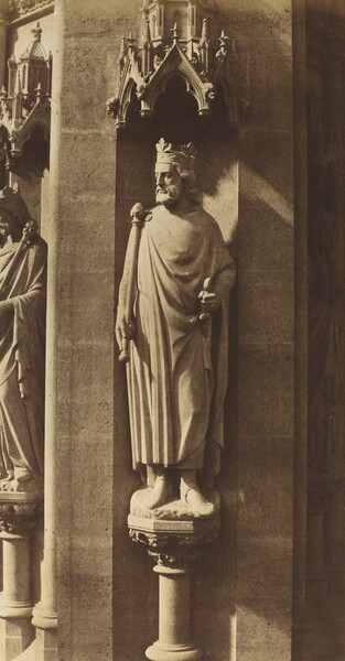Statue of Clovis, Church of Sainte-Clotilde, Paris