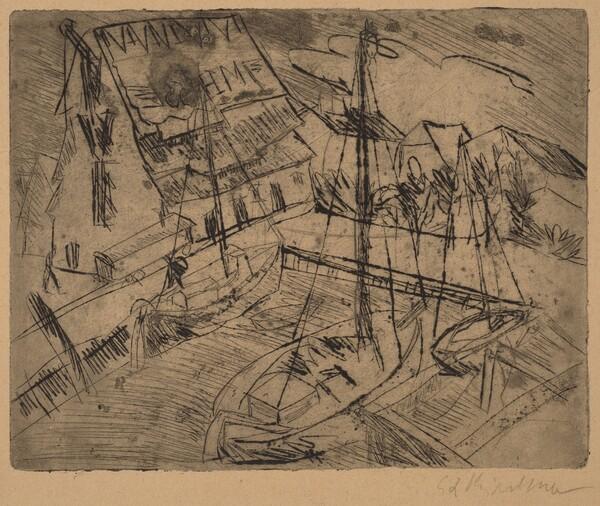Harbor at Burgstaaken