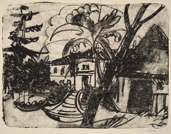 Danish Farm with Manor House
