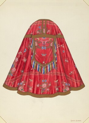 Ecclesiastical Vestment (back view)