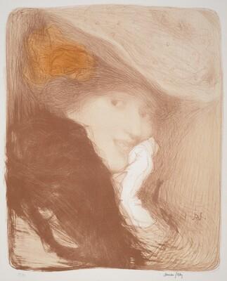 La Rieuse: Madame Albert Besnard