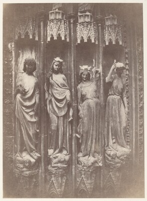 The Virtues Crushing the Vices, Strasbourg Cathedral