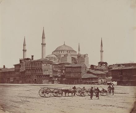 Hagia Sophia from Place l'Hippodrome