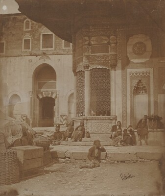 Gate to Imperial Palace and Fountain of Ahmed III