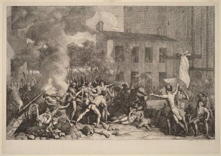 Prise de la Bastille, le 14 Juillet 1789