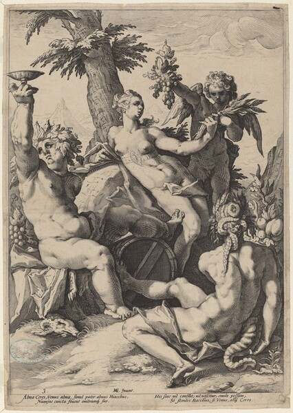 Alliance of Venus with Bacchus and Ceres