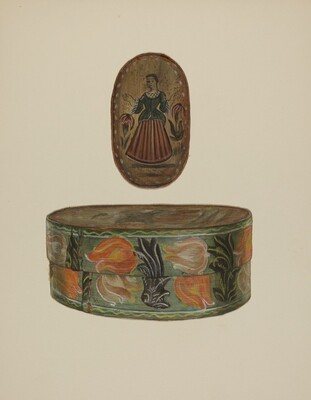 Pa. German Bride's Box
