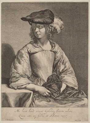 Girl in a Plumed Hat