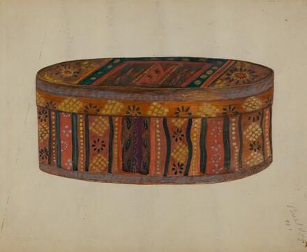 Pa. German's Bride's Box