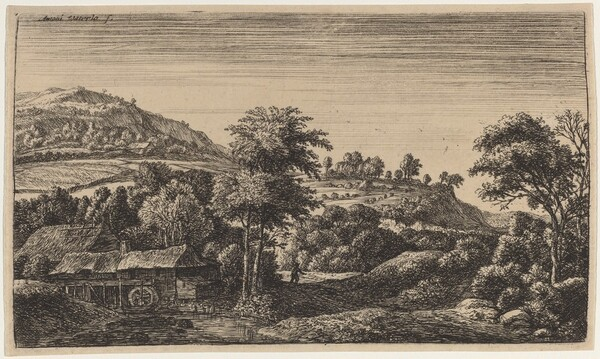 Watermill at the Foot of a Hill